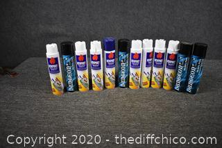 12 Cans of Butane Fuel