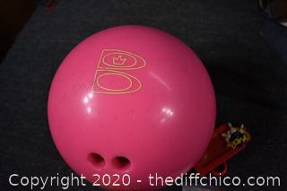 Bowling Bag and Ball