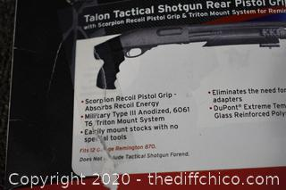 NIB shotgun Rear Pistol Grip