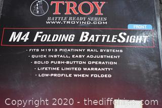 NIB Troy Folding Battle Sight