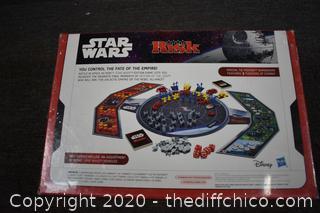 Sealed Star Wars Risk Game