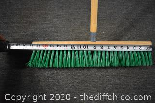 56in long Push Broom