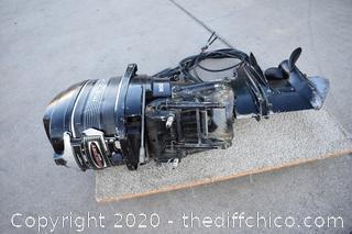 Mercury Motor 50HP w/Controller