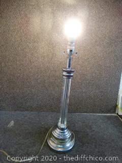 Working Round Lamp - No Shade
