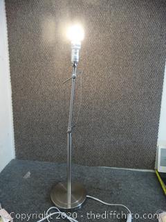 Working Adjustable Lamp - VERY Heavy, No Shade
