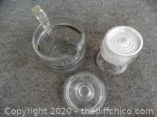 Camping Glass Coffee Percolator