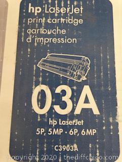 HP LaserJet Print Cartridge 03A NIB