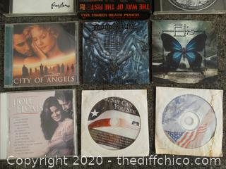 Mixed CD Lot w/ Daryl Worley Signature (no CD)