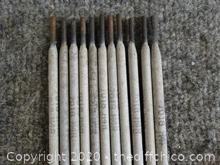 11 ARC Welding Rods 7018 H4R