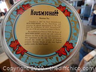 Kousmichoff Russian Tea NIB