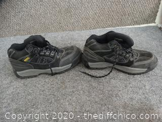 Stanley Steel Toe Shoes - Size 8.5