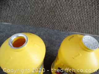 Prestone DOT3 Hi Temp Synthetic Brake Fluid - 1 New, 1 Opened, Barely Used