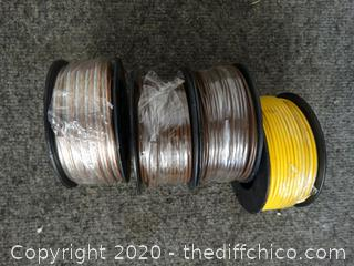 4 Rolls of Wire
