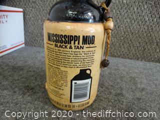 Mississippi Mud Vintage Bottle