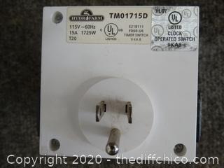 Hydrofarm Clock Operated Switch