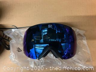 Winterial Snowboard/Ski Goggles - Black (J7)