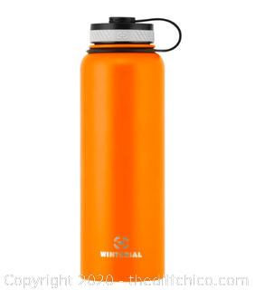 Winterial 40oz Stainless Steel Water Bottle - Orange (J8)