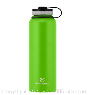Winterial 40oz Stainless Steel Water Bottle - Green (J10)