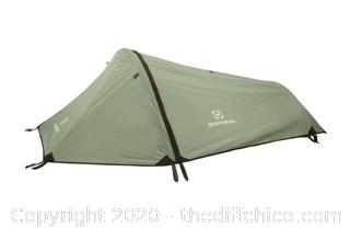 Winterial Single Person Tent - Green (J15)