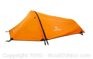 Winterial Single Person Tent - Orange (J18)