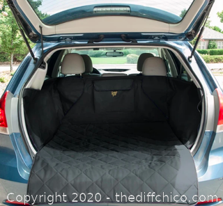 Frontpet SUV Pet Cargo Liner With Quilted Top - Large Black (J21)