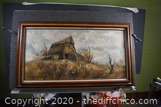Framed Signed Original Oil