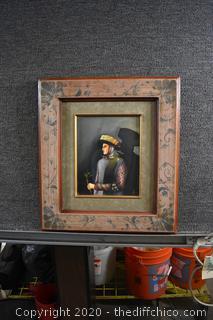 Framed 1981 Signed Original