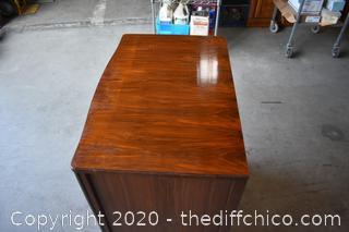 Walnut 3 Drawer Dresser