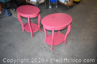2 End Tables / Night Stands