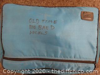 Case of Old Time Big Bands Music Tapes