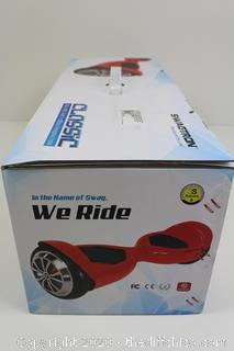 BRAND NEW SWAGTRON Swagboard Classic T500 Bluetooth Hoverboard with LED Light Up Wheels and Patented Battery