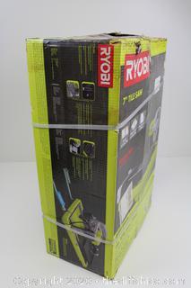 "NEW RYOBI 9 amp Corded 7"" Overhead Wet Tile Saw"