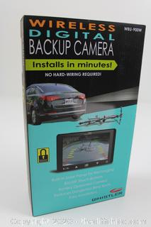 Whistler Wireless Digital Backup Camera ☆No Hard-Wiring Required ☆ New ☆