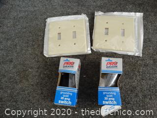 Light Switch Covers & Amp Switches