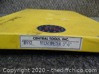 """Micrometer 5""""-6"""""""