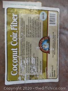 Coconut Coir Fiber 4.5 Cubic Feet