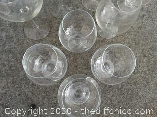 Mixed Glassware