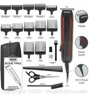 Wahl Edge Pro Corded Hair Beard Trimmer Clipper Edging Model 9686-300