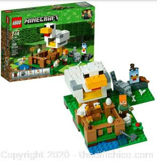 LEGO MINECRAFT 21140 THE CHICKEN COOP 198 PCS NEW FACTORY SEALED