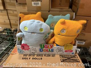 Ugly Dolls Stuffed Toys - Set of 4 (J14)