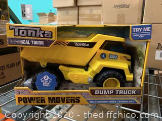 Tonka Power Movers Dump Truck Toy (J17)