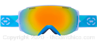 Winterial Ski and Snowboard Goggles, UV Protection, Teal (J26)