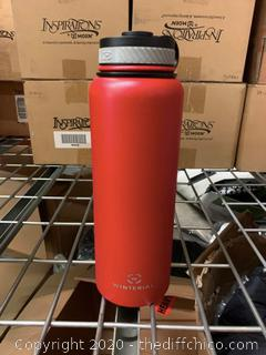 Winterial 40oz Stainless Steel Water Bottle - Red (J34)
