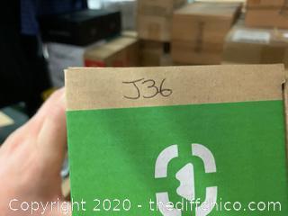 Winterial 40oz Stainless Steel Water Bottle - Green (J36)