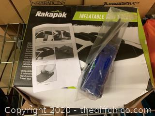 Rakapak Inflatable Ski, Snowboard and Luggage Universal Car Roof Rack (J40)