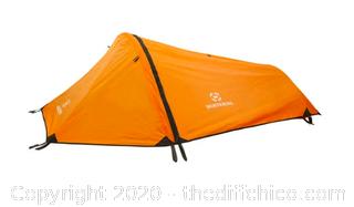 Winterial Single Person Tent - Orange (J43)