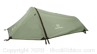 Winterial Single Person Tent - Olive Green (J45)
