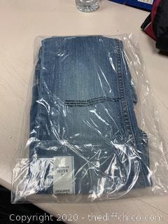 Cat & Jack Girls Bootcut Jeans - Medium Wash - Size 6 Slim (J257)