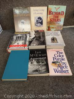 Novel Book Lot