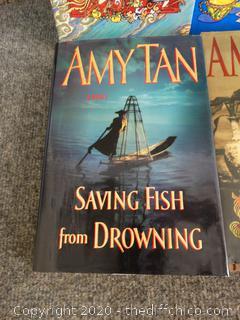 Amy Tan Book Lot